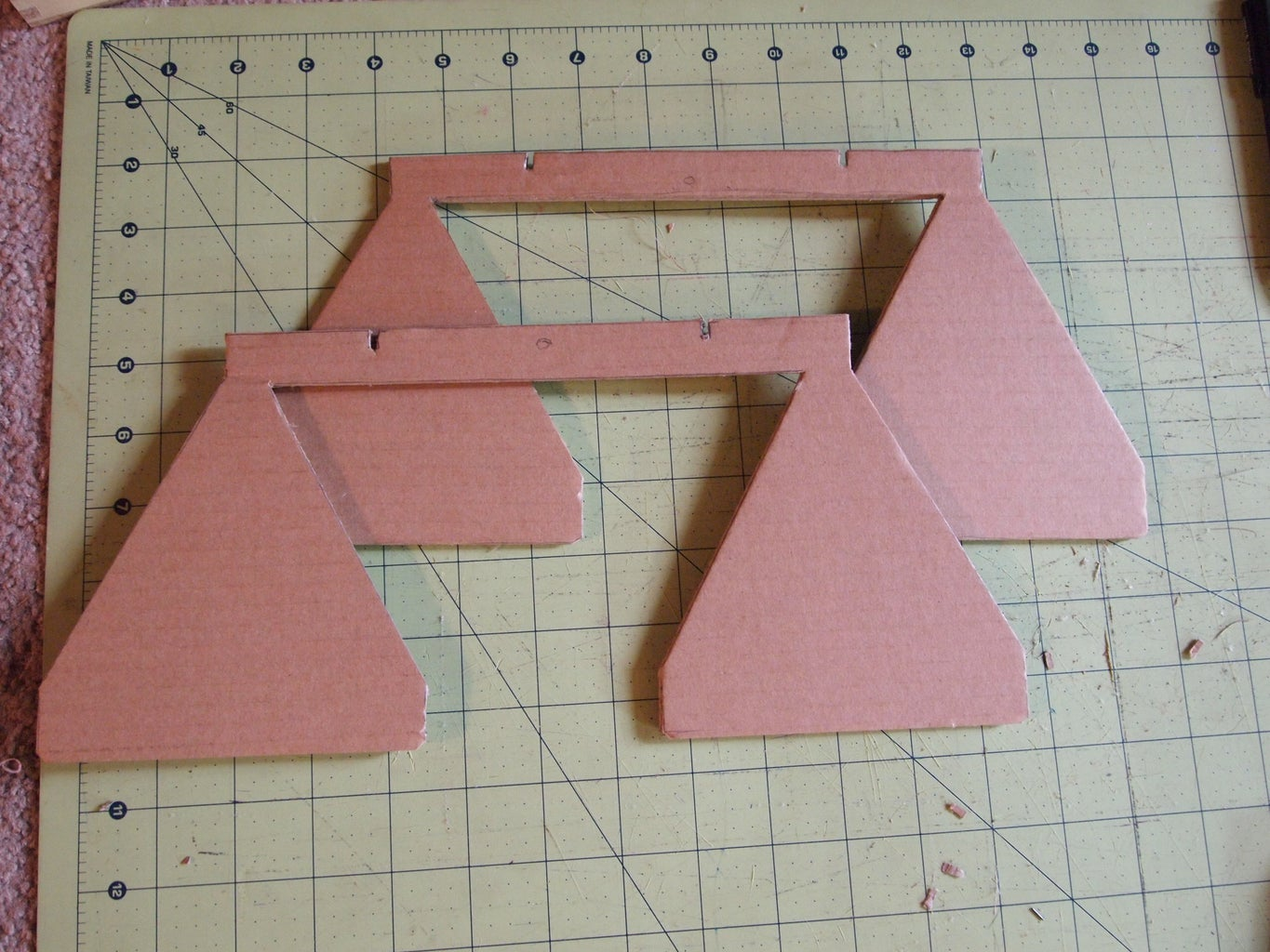 Cut Out Pieces for Antenna