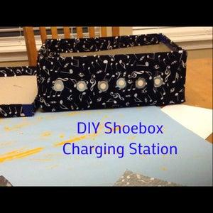 DIY Shoebox Charging Station #1