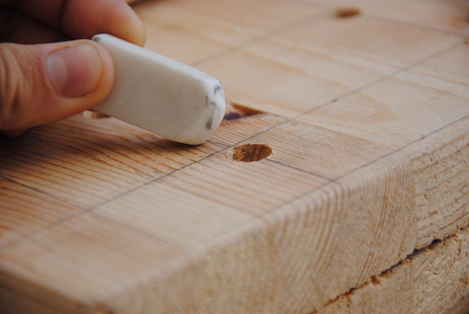 Erasing Pencil Marks, Sanding, & Applying Varnish