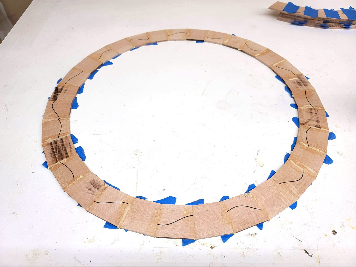 """Cut and Assemble 31 Segment """"Number of Day"""" Ring"""