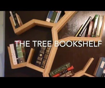Tree Bookshelf DIY