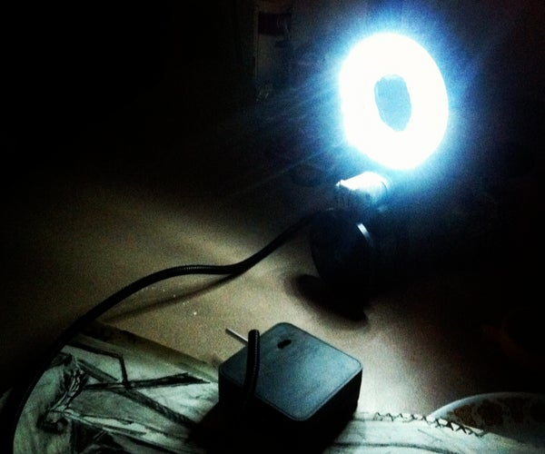 LED Ring Light/ Shoe Mount Light