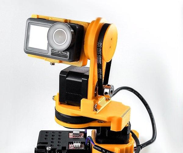 Remotely Operated WEBCAM / Laser / Camera /flashlight