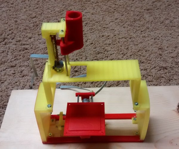 Extremely Low Cost 3D Printable 3D Printer / Plotter / CNC Machine