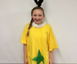 Easy Sneetch Costume for Dr. Seuss Day or Halloween