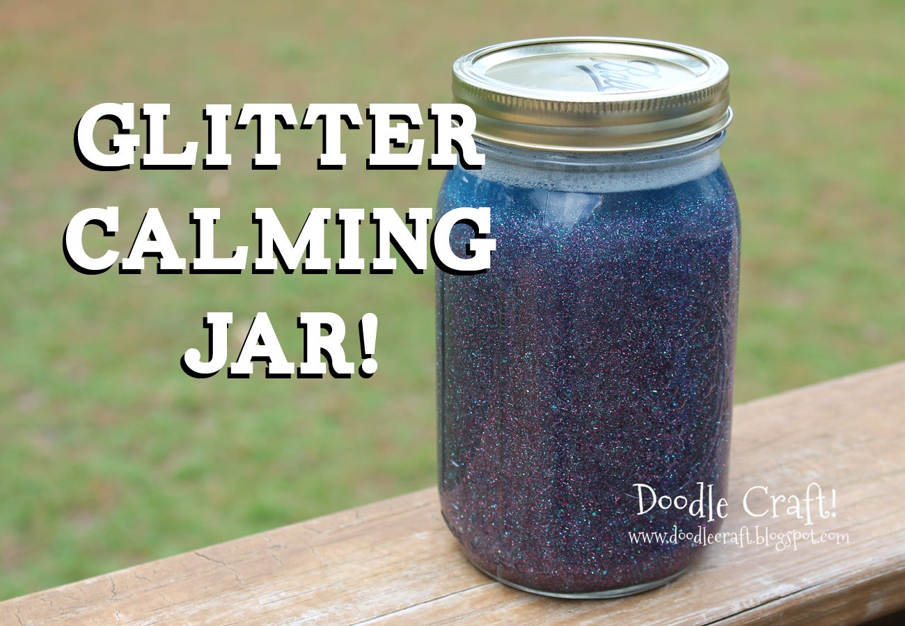 Diy Calming Glitter Jars 6 Steps With Pictures Instructables