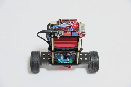 Add Electronic Modules and Batteries on the Robot.
