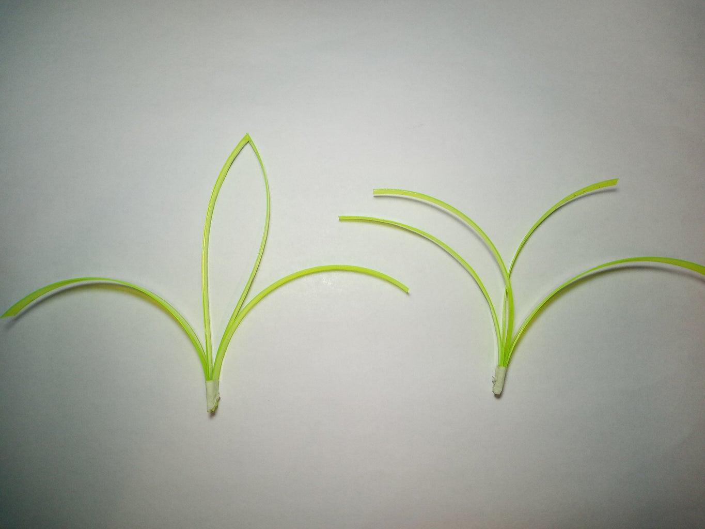 Making Grass Stalks