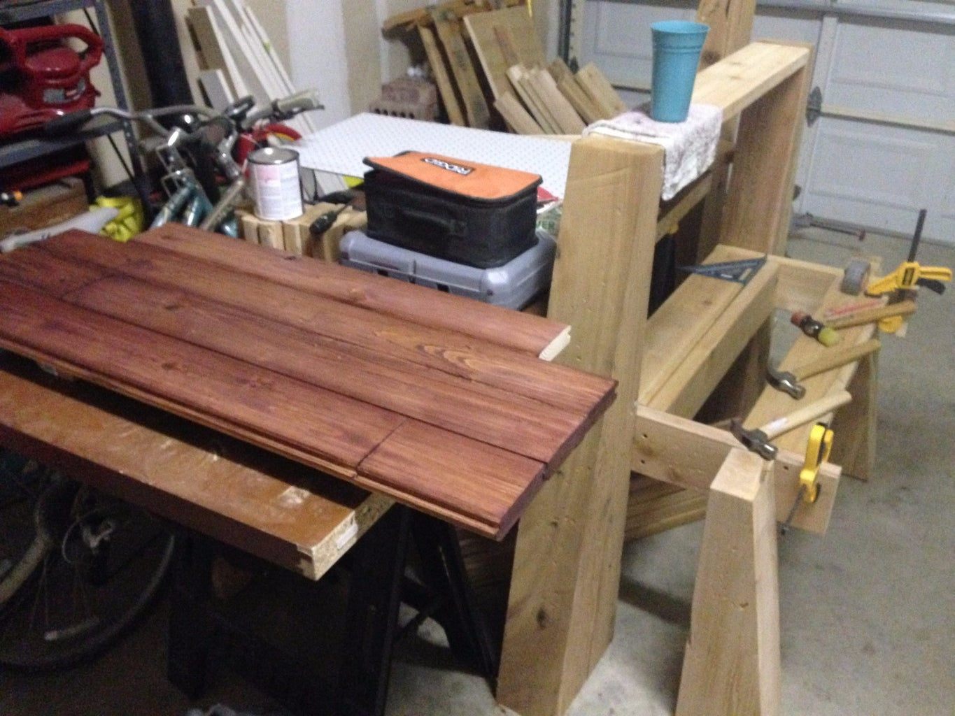 Assemble the Tongue & Groove Top