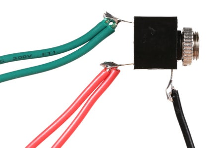 Wire the Output Jack