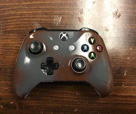 Spray Painting a Xbox Controller