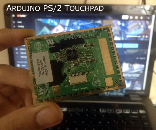 Reuse an Old Laptop's Touchpad to Control a Computer!