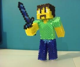 Perler Beads Minecraft Skin