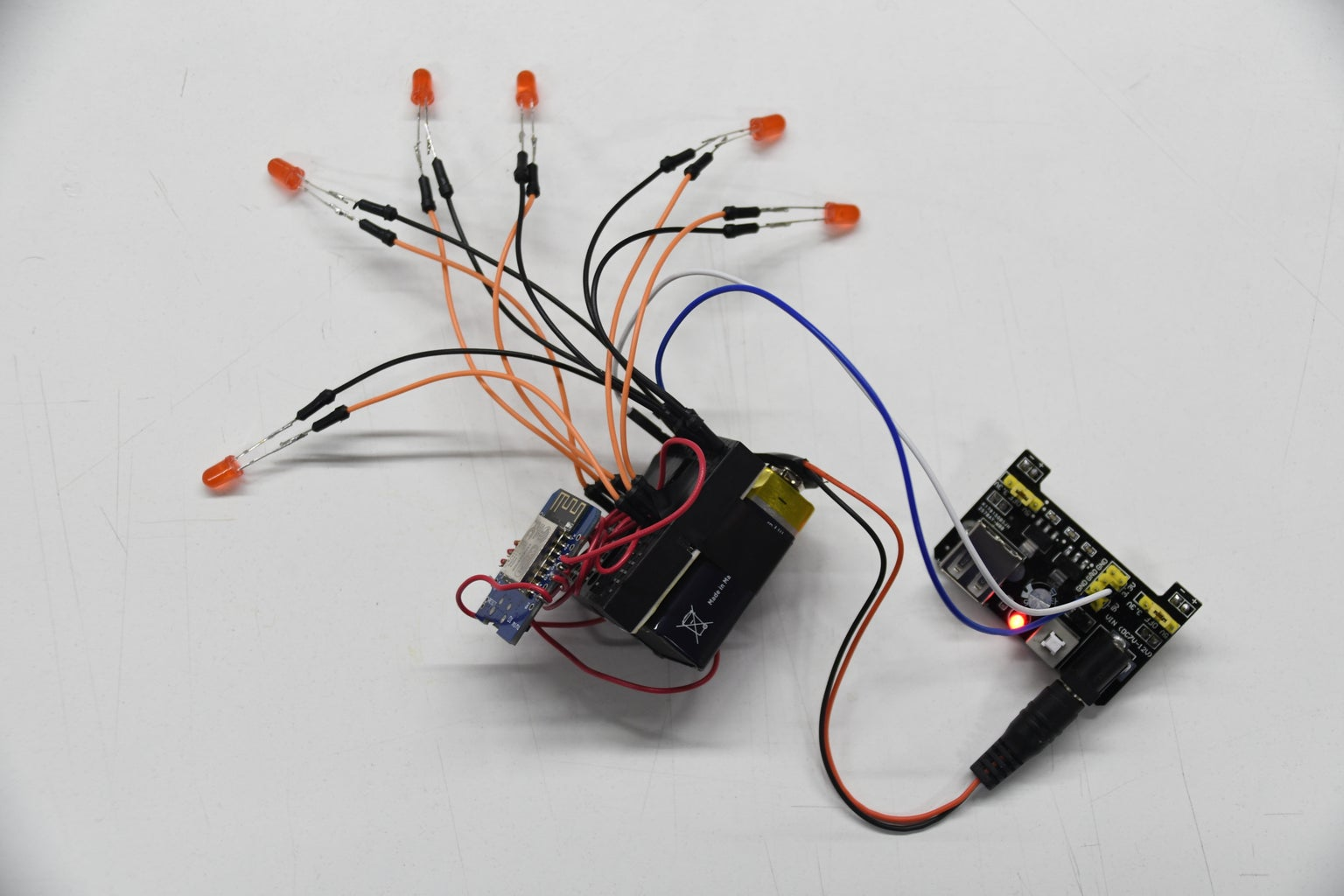 Assembling the Circuits