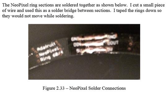 Components - NeoPixel 1/4 60 Ring