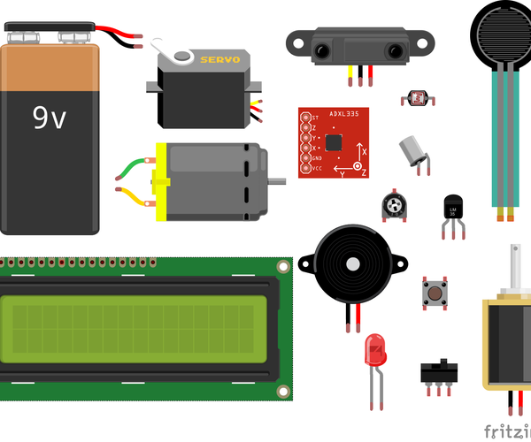Arduino: How to Connect Common Sensors and Items