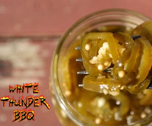 Candied Jalapenos Recipe | How to Make Cowboy Candy | White Thunder BBQ