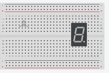 Attaching the RGB and Seven Segment Display