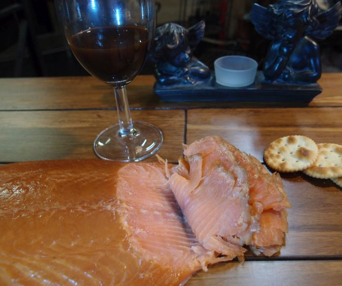 Simple Smoked Salmon