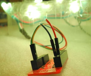 BLE-Controlled WS2801 LEDs