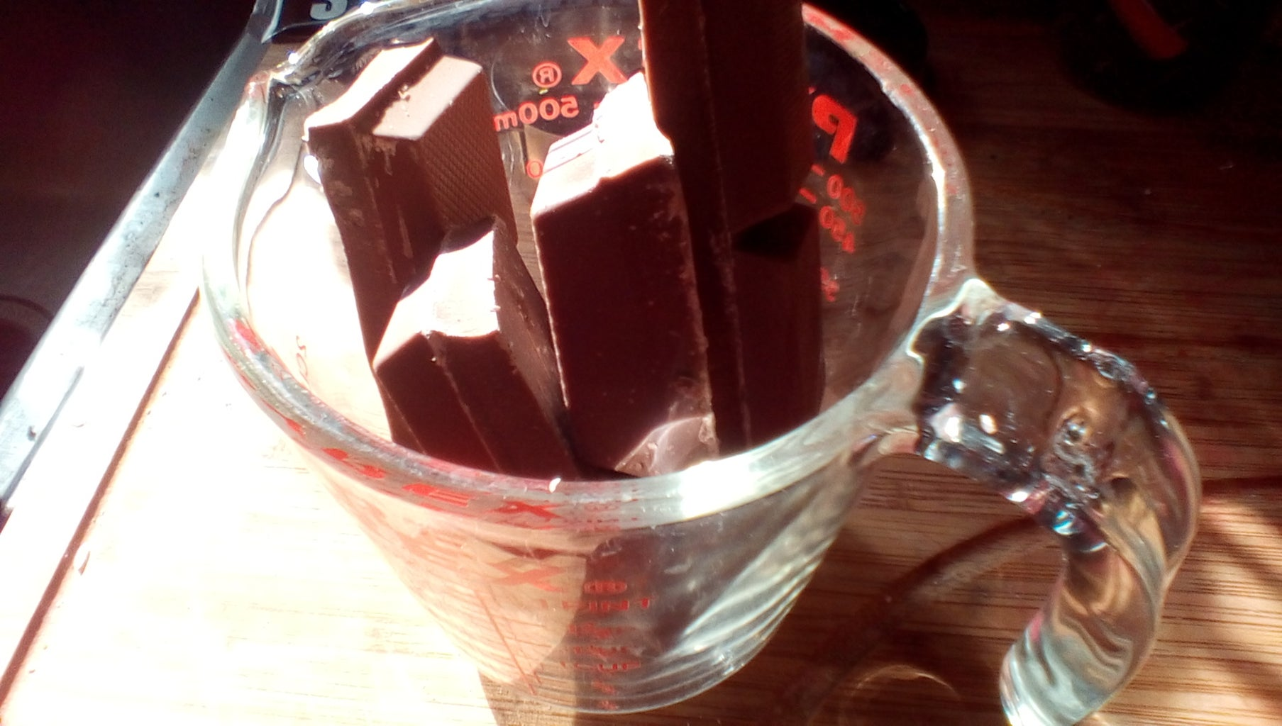 Melting the Chocolate