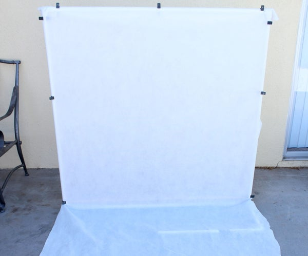 Cheap and Easy PVC Backdrop for Photos