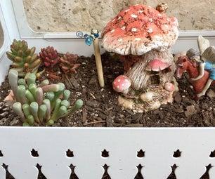 Fairy Garden Lamp Post
