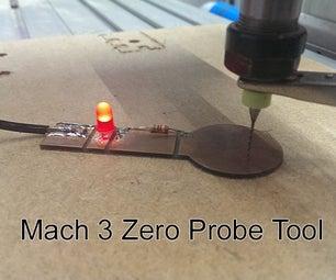 Mach3 Zero Probe Tool