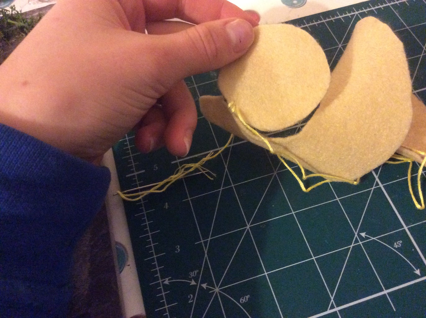 Sewing the Base
