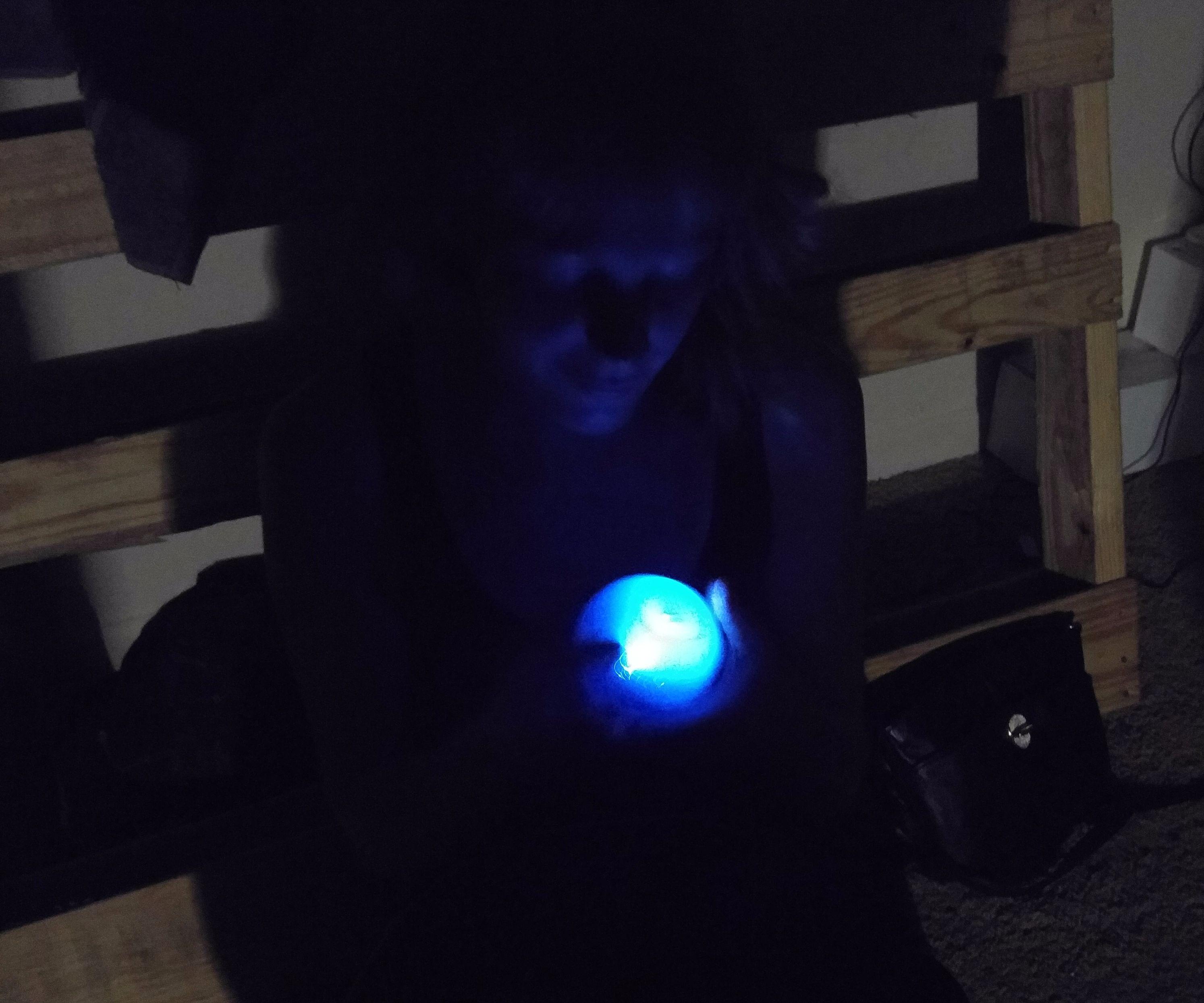 Solar Firefly Globe