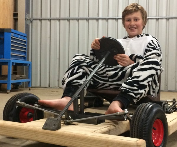 Electric Microkart With Independent Suspension