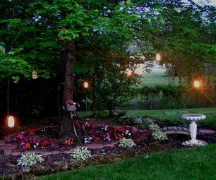 Garden Candle Lanterns