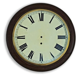 Construction Classic Style English Dial Clock Case