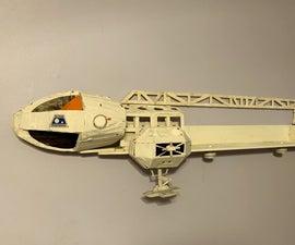 Sci-Fi Spaceship Shelf
