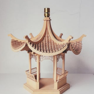 Ancient Chinese Pavilion From Cardboard