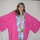Simply Warm Fleece Kimono