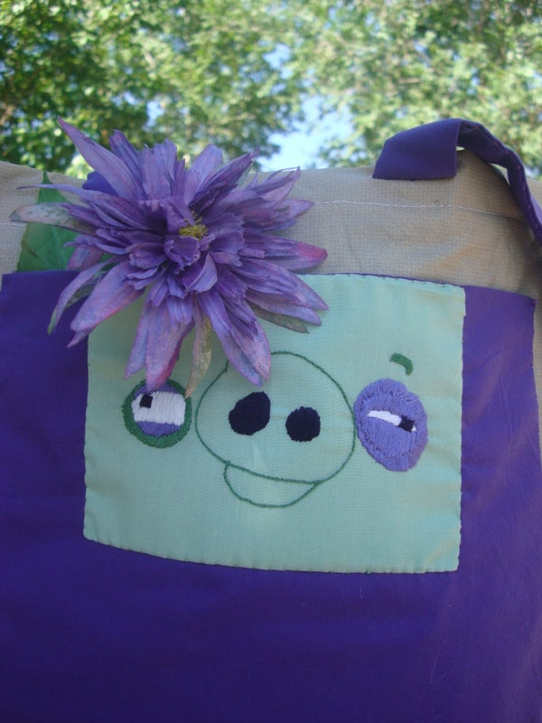 Angry Birds, Pig, Insulated Bag With Free Pattern