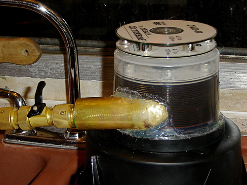 SinkScience with the Tesla CD Turbine