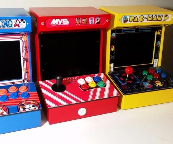 Mini JAMMA Arcade Machine