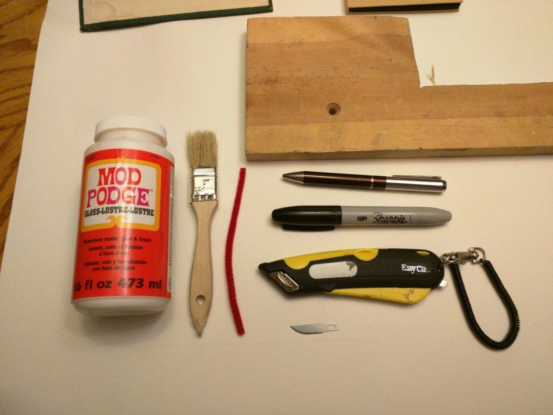 Tools Needed & Materials.