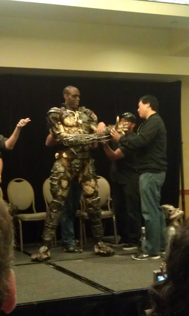 Monsterpalooza 2013- the Suit Up!