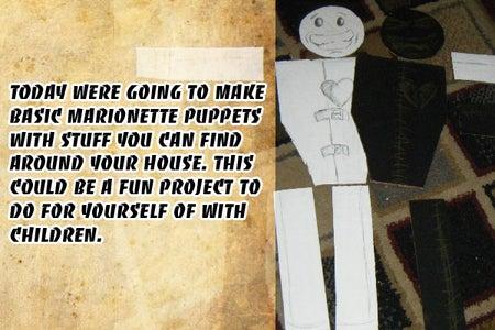 Simple Marionette Puppet