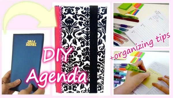 DIY Customizable Agenda + Easy Organizing Tips!!