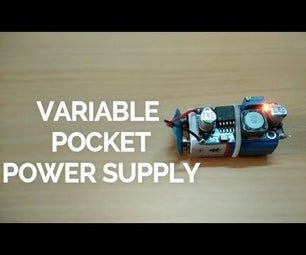 Variable Pocket Power Supply