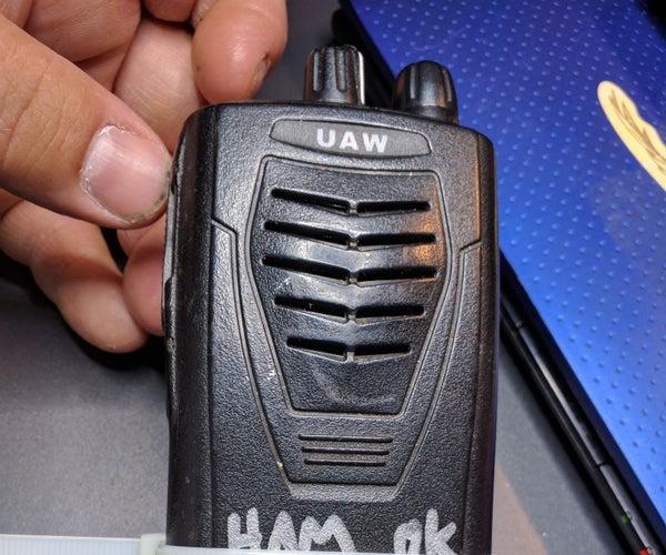 UHF Ham Radio on the Ultra Cheap