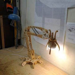 Woodpunk LED Desk Lamp