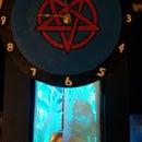 3-D LED Lightbox Pendulum Clock From Shoebox