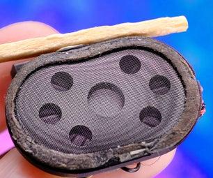 来自旧零件的世界上最小的蓝牙音箱