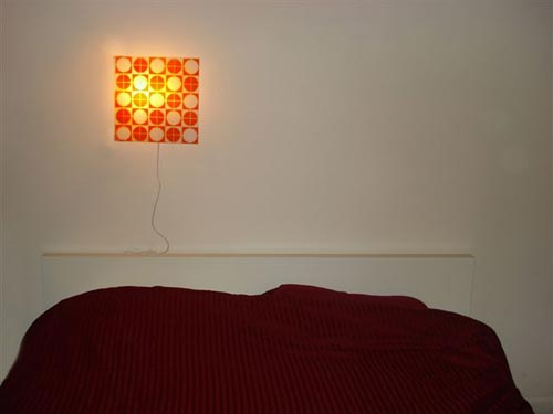 Decorated Wall lamp