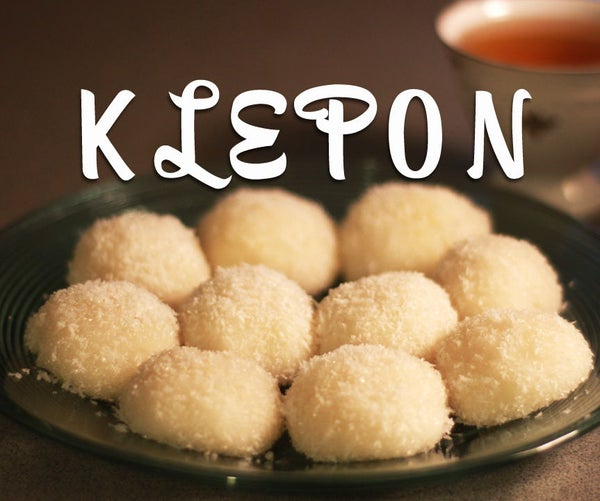 Klepon (sweet, Stuffed Rice Balls)